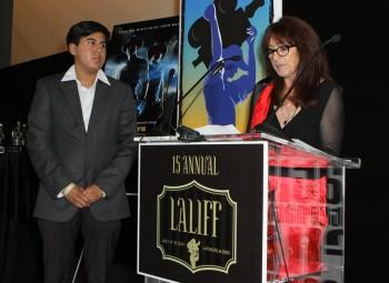 Student Filmmaker Kevin Lozano & BAFTA Los Angeles' Katy Haber