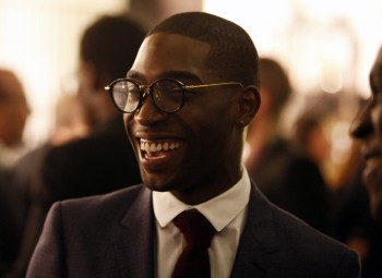 Tinie Tempah at the Breakthrough Brits celebration.