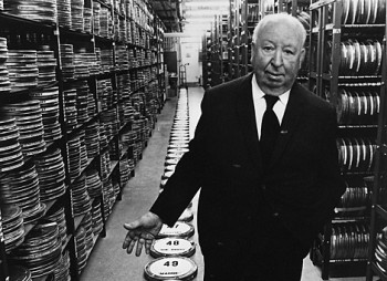 Alfred Hitchcock in 1971