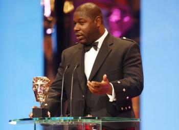 Director/Writer Steve McQueen accepted the prestigious Carl Foreman Award for his film Hunger (BAFTA / Marc Hoberman).