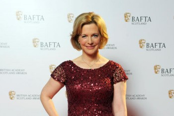 Hazel Irvine at the British Academy Scotland Awards 2014