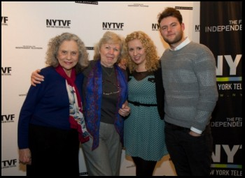 Kaleigh and Matt at the NY TV Festival