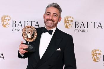 British Academy Cymru Awards, Press Room, St David's Hall, Cardiff, Wales, UK - 14 Oct 2018