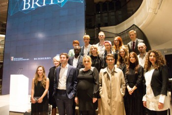 Event: Breakthrough Brits Launch Date: Wednesday 25 October 2017Venue: Burberry, Regent Street, London-Area: Group Shots