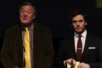 Event: Nominations Press Conference for the EE British Academy Film Awards in 2015Date: 9 January 2015Venue: BAFTA, 195 PiccadillyHosts: Stephen Fry and Sam Claflin-Area: PRESS CONFERENCE