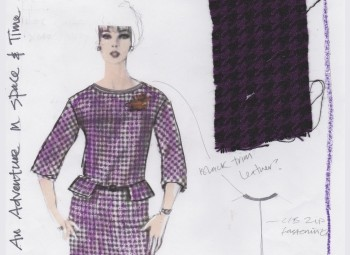 Costume Design Sketch by Suzanne Cave