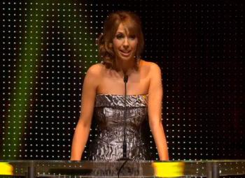 BAFTA Cymru Awards 2012: Alex Jones