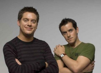 Dick and Dom, hosts of the EA British Academy CHildren's Awards in 2010.