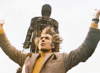 Christopher Lee as Lord Summerisle in the 70's horror movie. Pic: Everett Collection/ Rex Features