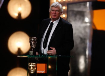 Joe Dunton speaks after being named an Outstanding British Contribution to Cinema (BAFTA/Brian Ritchie).