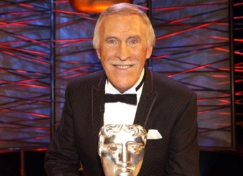 Bruce Forsyth at the BAFTA Tribute event in 2005.