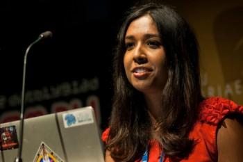 Mitu Khandaker-Kokoris delivers keynote speech at the BAFTA Cymru Games Awards 2014