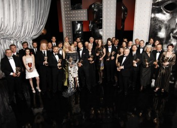 Official Winners group shot (BAFTA/Richard Kendal).