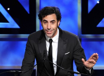 Actor Sacha Baron Cohen was presented with the Charlie Chaplin Britannia Award for Excellence in Comedy