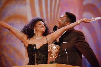Event: British Academy Film & Television Awards Date: 29 Apri 1997Venue: The Royal Albert Hall, London Host: Lenny Henry