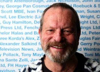 Terry Gilliam at BAFTA headquarters after his A Life in Pictures event on 5 October 2009.