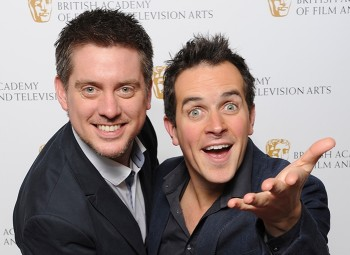 Dick and Dom at the BAFTA Children's Awards in 2013