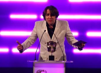 TV presenter and gamer Jonathan Ross presents the BAFTA for Best Game