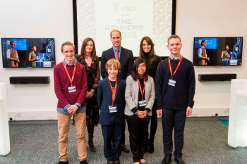 The Duke And Duchess Of Cambridge Meet BAFTA Young Game Designers On Visit To Dundee