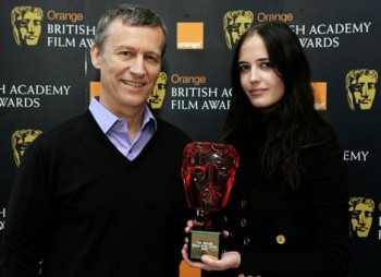 Eva Green, recipient of the Orange Rising Star Awards in 2007 with Duncan Kenworthy.