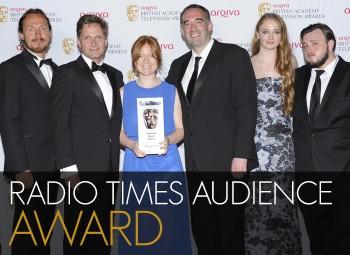 Radio Times Audience Award Winner in 2014