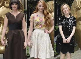 Guest arrivals at the Television Craft Awards