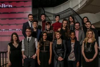 Event: BAFTA Breakthrough Brits 2015 LaunchDate: 10 November 2015Venue: Burberry, Regent StHost: Greg James-Area: GROUP SHOT