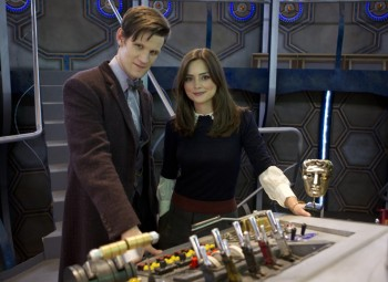 Matt Smith and Jenna-Louise Coleman‎