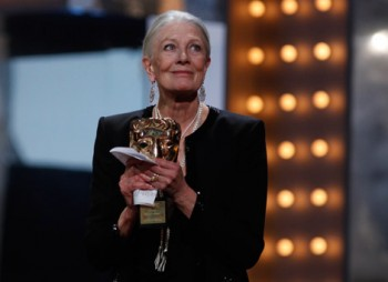 Vanessa Redgrave accepts her Academy Fellowship (BAFTA/Brian Ritchie).