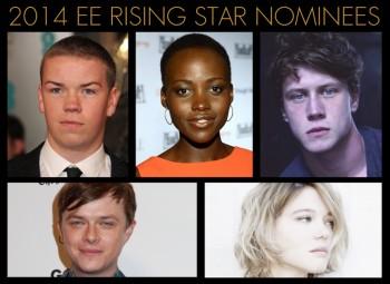 EE Rising Star Nominees in 2014