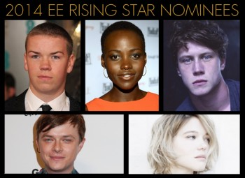 EE Rising Star Nominees in 2014