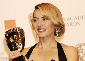 Kate Winslet received Best Leading Actress Award at the Orange British Academy Film Awards in 2009