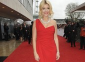 Holly Willoughby on the red carpet
