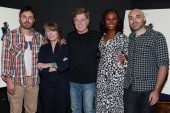 Casey Affleck, Sissy Spacek, Robert Redford, Tika Sumpter and David Lowery