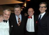 John Sessions, Robbie Coltrane, Richard Wilson and Peter Capaldi at the 2011 British Academy Scotland Awards