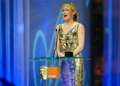 Kate Hudson presented the Best Actor award to Daniel Day-Lewis (pic: BAFTA / Camera Press).