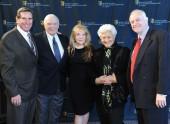 Donald Haber, Ernest Borgnine, Donna Neame, Marion Rosenberg and Brian Walton.