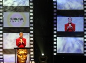 Alan Cumming hosted the Britannia Awards in 2012.