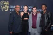 Director Reginald Hudlin, Kate Hudson, Josh Gad, Chadwick Boseman