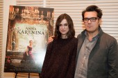 Keira Knightley and Joe Wright