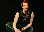 Tilda Swinton discusses her career at the Academy's Life in Pictures event.