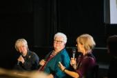 Host Janice Forsyth, Val McDermid & Amelia Bullmore
