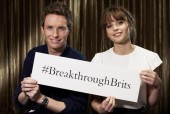 Felicity Jones and Eddie Redmayne: BAFTA Breakthrough Brits