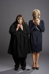 French and Saunders were presented with the Academy Television Fellowship in 2009.