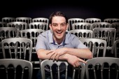 Kevin Guthrie prior to his Q&A with Andy Dougan (RCS)