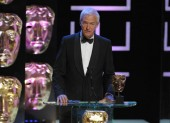 Channel 4 newsreader Jon Snow was on hand to present the BAFTA for Specialist Factual (BAFTA / Marc Hoberman).