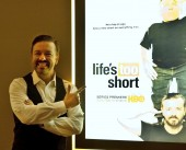 "Screening and Q&A of the new HBO series, ""Life's Too Short"" with Ricky Gervais"