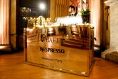 The bar is set for guests to arrive at the BAFTA Nespresso Nominees' Party