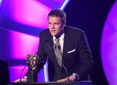 BBC Sport's Jake Humphrey announces the Independent Production Company of the Year winner.