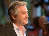 Director Alfonso Cuaron on the red carpet at the BAFTA LA 2014 Awards Season Tea Party.